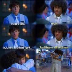 High School Musical Quotes, Hight School Musical, School Quotes, School Memes, Troy Bolton, Funny Disney Memes, Funny Memes, Disney Quotes, Hilarious