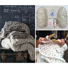 Make a chunky hand knit throw with Loopy Mango's do-it-yourself kit! Designed for the novice in mind this kit includes: Big Loop Merino yarn, pattern, and birch wood knitting needles.