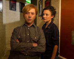 Inside No. Image shows from L to R: Jim (Reece Shearsmith), Laura (Lyndsey Marshal). Inside No 9, Steve Pemberton, Reece Shearsmith, League Of Gentlemen, British Broadcasting Corporation, Alan Turing, British Comedy, Television Program, Episode 5