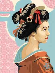 Posters, Art Prints, Framed Art, and Wall Art Collection Geisha Art, Framed Art, Wall Art, All Poster, Free Vector Art, Disney Characters, Fictional Characters, Original Art, Art Prints