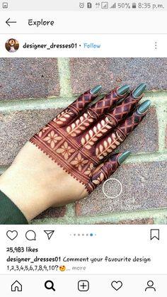 Henna Art Designs, Mehndi Designs For Girls, Mehndi Designs For Beginners, Modern Mehndi Designs, Mehndi Design Pictures, Wedding Mehndi Designs, Mehndi Designs For Fingers, Latest Mehndi Designs, Mehendi