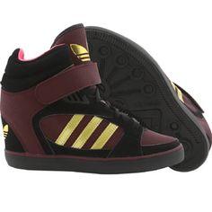 8f795a4ec91f Adidas Women Amberlight Up W (black   metallic gold   light maroon)