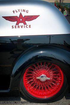 Visit The MACHINE Shop Café... ❤ Best of Hot Rod @ MACHINE ❤ (Kool 1937 Ford Sedan Delivery)