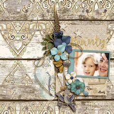 Digital Scrapbook Page Layout by Diane using the Kashmir Kit and matching Paint from Etc by Danyale at The Lilypad #etcbydanyale #thelilypad #digitalscrapbooking #memorykeeping #exotic