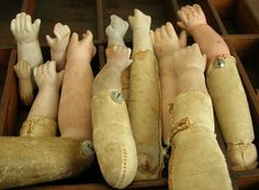 Old Doll Arms...what's not to love about these??!!!