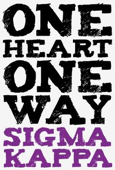 Sigma Kappa. Thought of Autumn when I saw this ;)