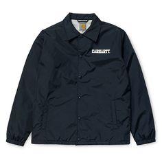 Carhartt WIP College Coach Jacket - Dark Navy