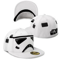 Star Wars Storm Trooper Fitted Cap - Running Man Cap | ULOVELIFE