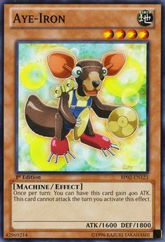 Yu-Gi-Oh! - Aye-Iron (BP02-EN123) - Battle Pack 2: War of the Giants - 1st Edition - Common * You can get more details by clicking on the image.
