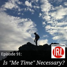 Ever feel like there just isn't enough time to do the things you want to do? Do the demands of the roles of parenting and homeschooling make you feel guilty if you take time for yourself?