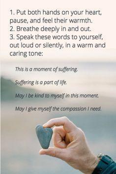 A meditation from self-compassion researcher Kristin Neff. Read more:
