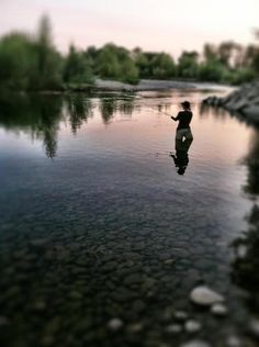 Nothing to calm an anxious mind like some time in the water with a fly rod in hand.