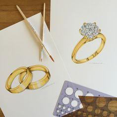 Jewelry Illustrations on Behance