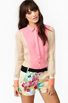 Candy Coated Blouse