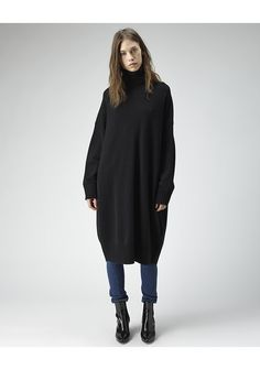 Acne Studios  Liston Oversized Turtleneck  |   La Gar�onne | La Garconne