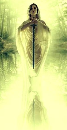 Lady of the Lake with Excalibur