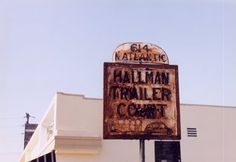 Hallman Trailer Court | sign