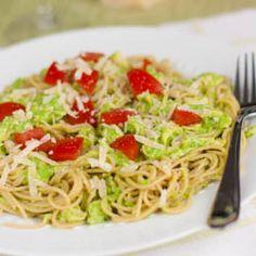 Chicken Pea Pesto Pasta