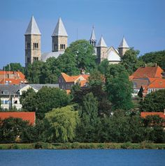 wish i knew how to pin my own picture of domkirke, it's much nicer!  all the birth and baptismal records for danmark are kept here.