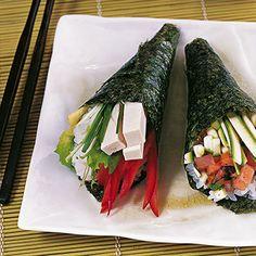 Temaki mit Tofu