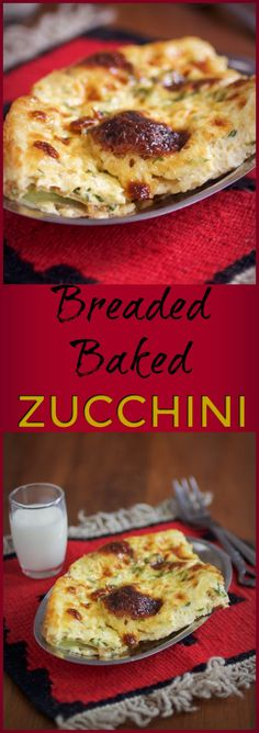 Breaded and baked zu