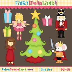 Clip Art Set - Nutcrackers - Christmas Holidays - Ballet Pink - 8 ...