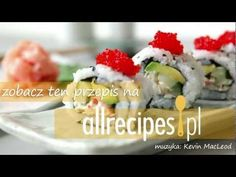 California roll czyli sushi kalifornijskie - Allrecipes.pl