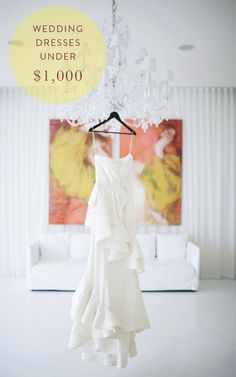 50 wedding dresses you won't believe cost less than $1,000 | Photography: Gesi Schilling