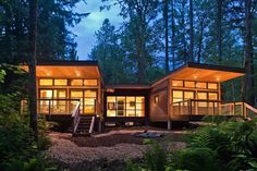 Contemporary Luxury Prefab Homes Architecture Design: Epic Contemporary Exterior Home Design With Wooden Home Decoration Used Modern Good Lighting For Home Inspiration ~ SFXit Design Architecture Inspiration
