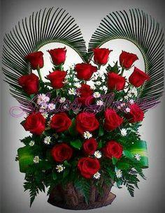 Flowers#roses.659 Valentine Flower Arrangements, Flower Arrangements Simple, Beautiful Flowers Wallpapers, Beautiful Rose Flowers, Happy Birthday For Her, Evening Pictures, Beautiful Love Pictures, Flowers Gif, Flower Phone Wallpaper