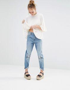 Image 1 ofMonki Kimomo Love Jeans