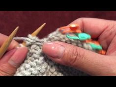 How to Knit the 10-Stitch Blanket - Part 3 - YouTube