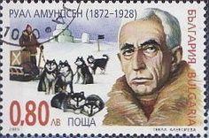 Sello: Roald Amundsen (Bulgaria) (Polar Explorer) Mi:BG 4694,Yt:BG BF223B
