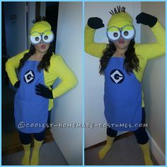 Cutest and Easiest Homemade Minion Costume for All Ages... This website is the Pinterest of costumes