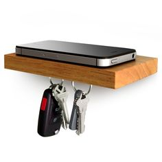 The bachelor's must-have. It keeps your keys, phone, and wallet in one easy-to-find place.