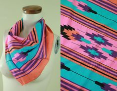 80s/90s  Southwest  Tribal  Purple Turquoise by starlingdarlin, $12.00