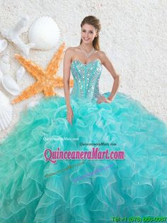 3b593f27252 Buy elegant beading sweetheart 2016 quinceanera dresses in aqua blue from  affordable quinceanera dresses shop