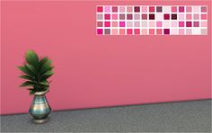 Shades of Pink Walls  60 plain walls. Can be found in paint for §1.  DOWNLOAD: dropbox / mega