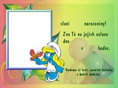pozvanky_narozeniny_detske Tweety, Sonic The Hedgehog, Character, Lettering