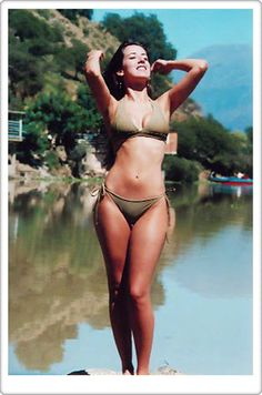 ANDREA CAMPONOVO, great body. The best in the world. SEAWARD COLLECTION