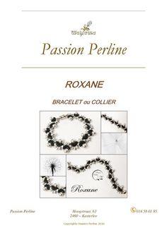 Schéma bracelet ROXANE par PASSIONPERLINE sur Etsy