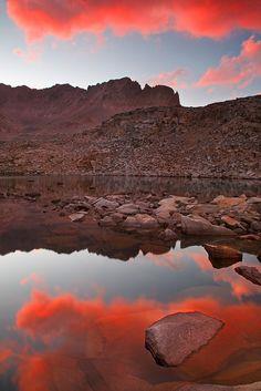 Upper Lakes Kaweah Basin Sunset | Sunset at upper lakes of K… | Flickr