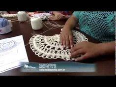 Blusa de Crochê de Grampo by Eliete Massi  (Completo MUITO BONITA E FÁCIL DE FAZER - basta ter o grampo para crochet de grampo q é vendido em armarinho que venda linha para crochet