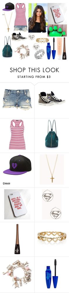 """""""Untitled #381"""" by stinze on Polyvore featuring River Island, Converse, DEPT, Elizabeth and James, Forever 21, Viva La Diva, Dana Rebecca Designs, Maybelline, Lancôme and women's clothing"""