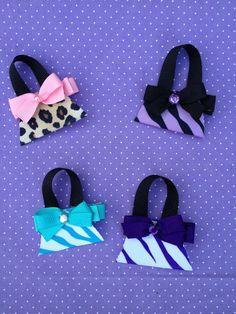 Purse Hair Clippie  Handbag Hair Clippie