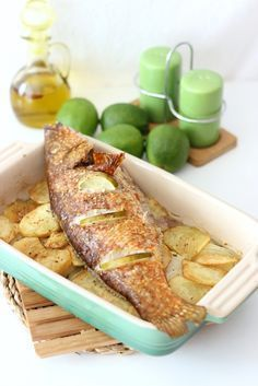 Pescado al horno, receta fácil