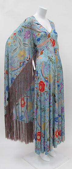 Dress Designer: Missoni (Italian, founded 1953) Date: early 1970s Culture: Italian