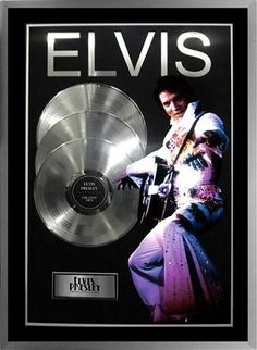 Growing up in the Clarks family I listened to alot of Elvis. This picture is of Elvis records. He is a legend in history.