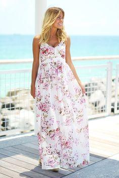 Pretty Long Summer Dresses