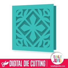 Use this flourish ornate square design as a card or a background for page…
